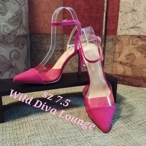 Wild Diva💖NWT💖sz 7.5💖Hot Pink
